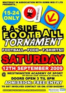 DWi 6-A-Side Football Tournament